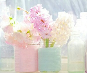 flower, flowers, and pastels image