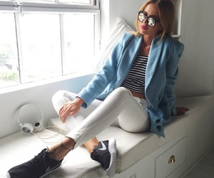 fashion, sneakers, and girls image