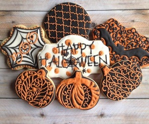 Halloween, Cookies, and fall image