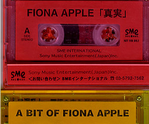 cassette, fiona apple, and music image