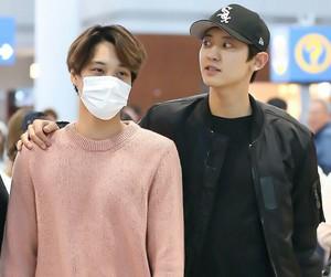 chanyeol, exo, and kai image
