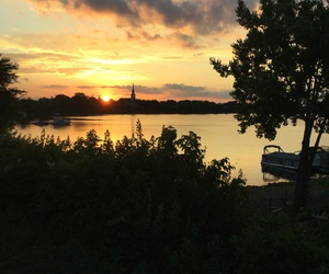 evening, nature, and summer image
