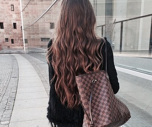hair, fashion, and girl image