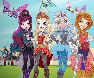 princess, Queen, and ever after high image