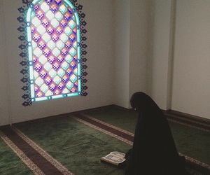 architecture, colors, and hijab image