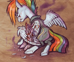 hurts, MLP, and my little pony image
