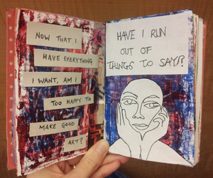 color, drawing, and journals image