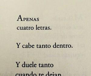 amor, frases, and heart broken image