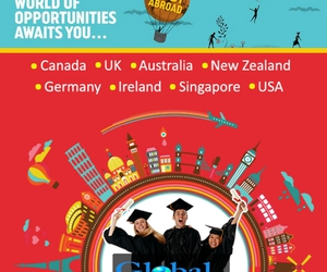 studyabroad, foreigncareerconsultants, and higherstudy image