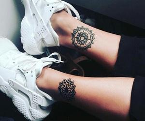 shoes and tatoo image