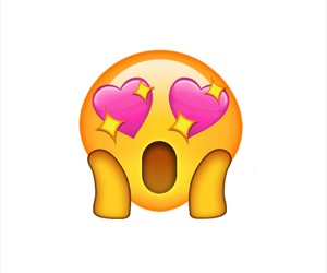 heart eyes, love emoji, and emoji image