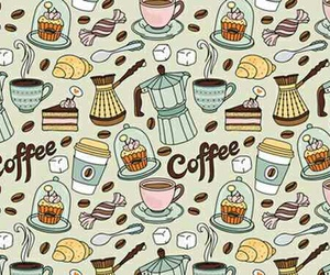 artistic, candy, and coffee image