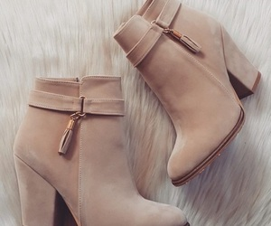 boots, brown, and shoes image