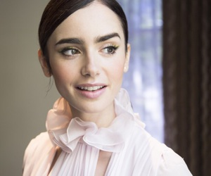 lily collins and celebrities image