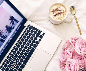 coffee and macbook image