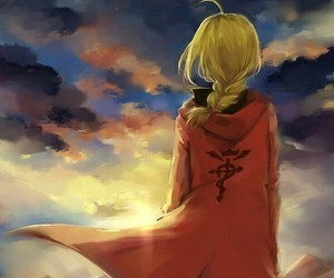 anime, fma, and fullmetal alchemist image