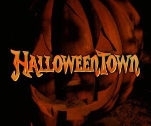 fall, autumn, and halloweentown image