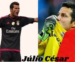 julio cesar and benfica image