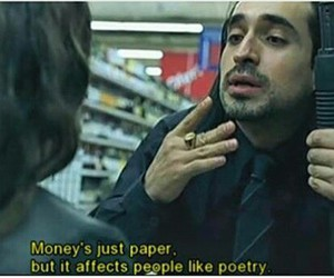 money, quotes, and poetry image
