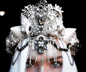 crown, mermaid, and white image