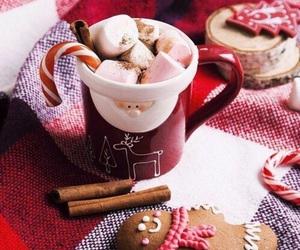 beautiful, marshmallow, and hot chocolate image