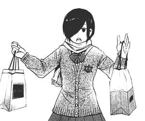 manga, tokyo ghoul, and touka kirishima image
