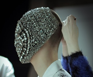 dark, diamonds, and Maison Martin Margiela image