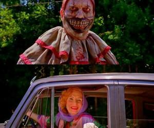 lol, ahs, and clown image