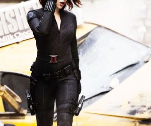 black widow and Marvel image