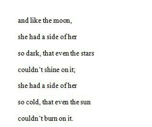 quotes, Darkness, and moon image