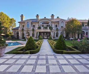 house, luxury, and garden image