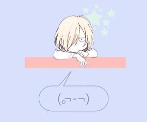 anime, yuri on ice, and wallpaper image