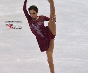 ice skating and evgenia medvedeva image