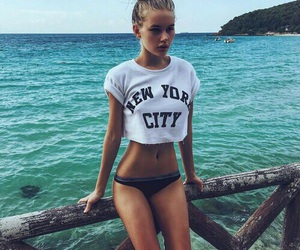 girl, summer, and body image