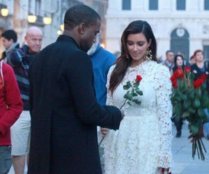 kim kardashian, love, and rose image