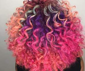 curly and hair style image