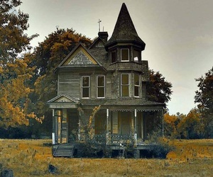 abandoned and house image