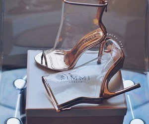 accessories, glam, and high heels image