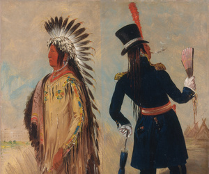 art, native american, and painting image