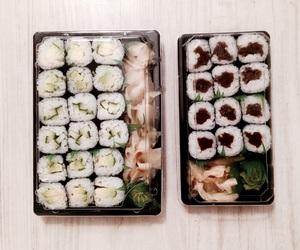 food, foodlove, and sushi image