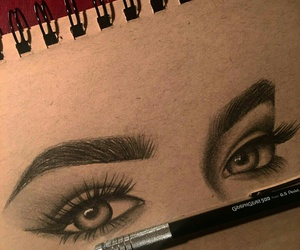 draw and eyes image