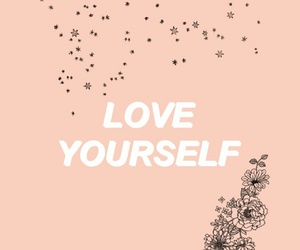 love yourself, quote, and alternative image