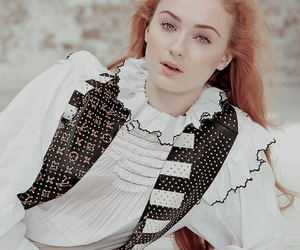 sophie turner, ginger, and redhead image