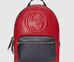 backpack, bag, and gucci image