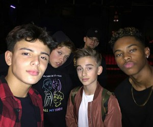 magcon, johnny orlando, and jacob sartorius image