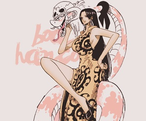 one piece and boa hancock image