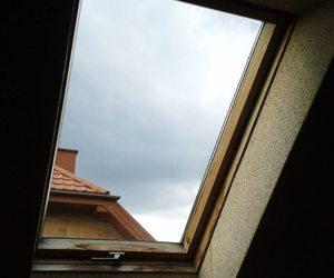 sad, window, and sky image