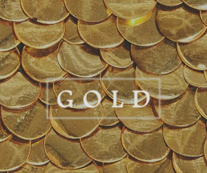 gold and wallpaper image