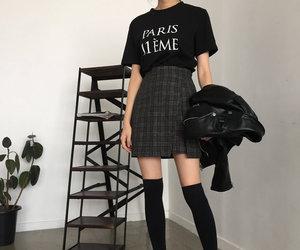 alternative, black, and fashion image