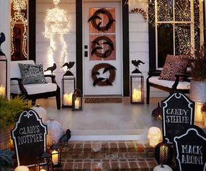 inspiration, halloween decorating tips, and outdoor halloween ideas image